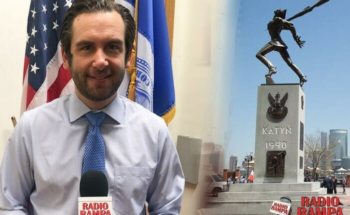 """Jersey City Mayor on Katyn Memorial: """"You don't mess with Polish people"""""""