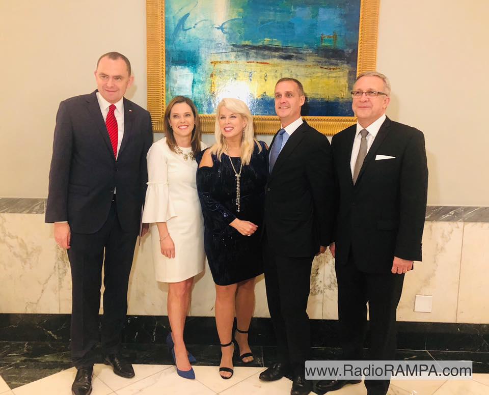 Uroczysta gala Polonii w Waszyngtonie z okazji 100. rocznicy niepodległości Polski